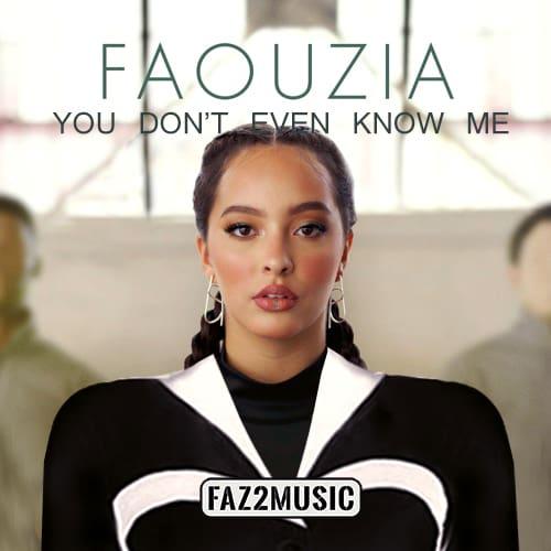 فائوزیا : تو حتی منو نمیشناسی