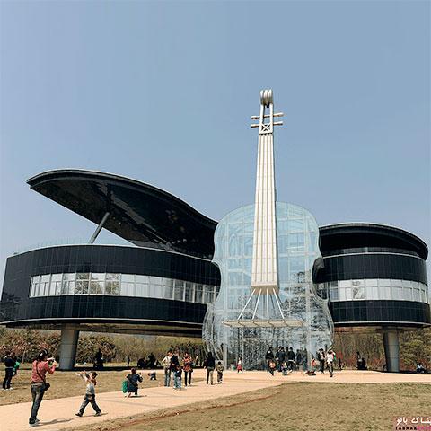 موزیک موسیقی و معماری
